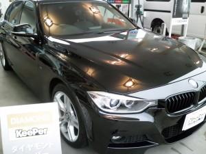 ダイヤモンドキーパー施工後(BMW・320d)