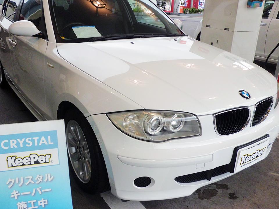 クリスタルキーパー施工後(BMW1シリーズ)