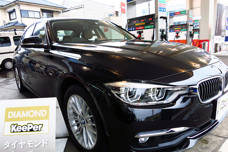 ダイヤモンドキーパー施工後(BMW・320i)