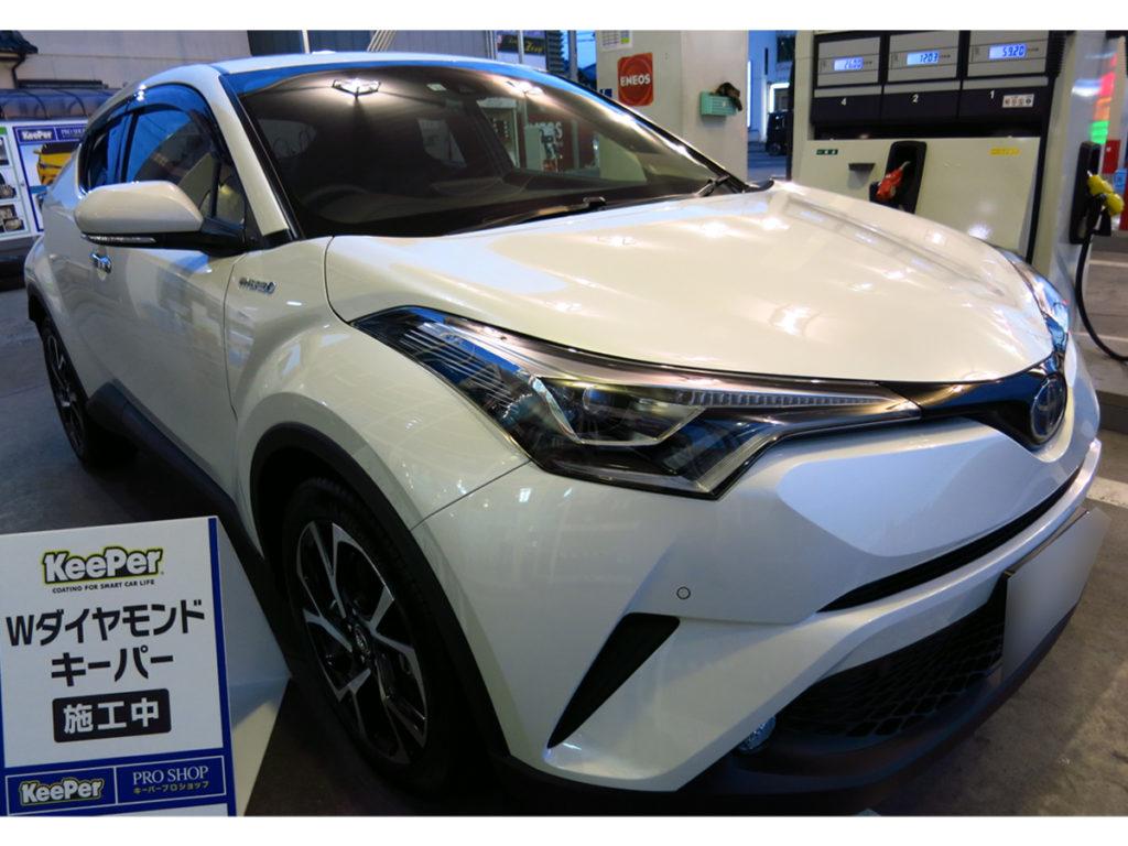 ダブルダイヤモンドキーパー施工後(トヨタ・C-HR)